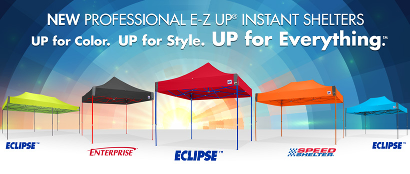 The Eclipse™ Instant Shelter Enterprise™ Instant Shelter and Speed Shelter® canopies allow teams brands organizations and businesses the choice of ...  sc 1 st  The Review Stew & Get Instant Shelter with E-Z UP Portable Shelters! ~ The Review Stew