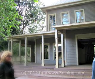 """Warner Bros. Studios """"Midwest"""" set house"""