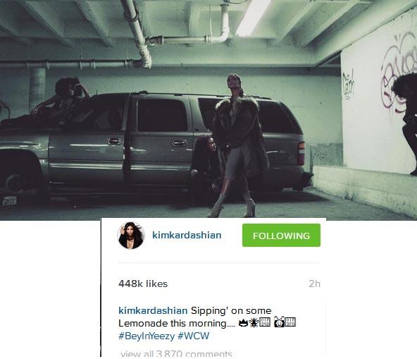 Kim K Says Beyonce Is Her Woman Crush