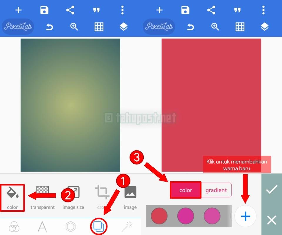 Cara Membuat Typography di Pixellab