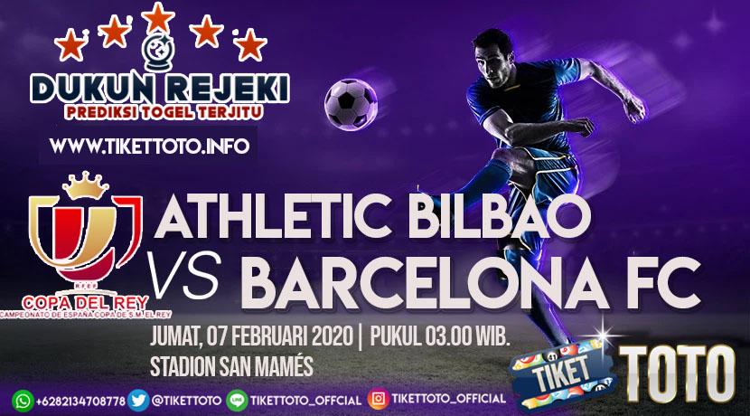 Prediksi Pertandingan Athletic Bilbao vs Barcelona 07 Februari 2020