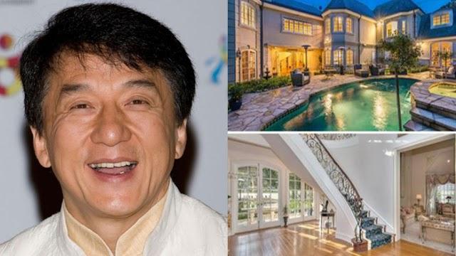 Silipin ang napakaganda at eleganteng bahay ni Jackie Chan