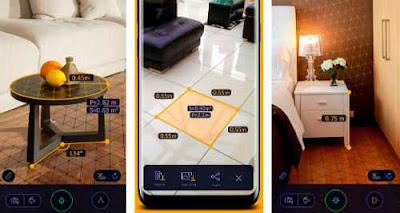 تحميل برنامج قياس المسافات والارتفاعات AR Ruler App للاندرويد اخر تحديث