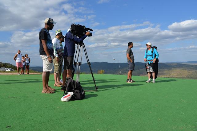 Expedição Bahia em Jacobina; veja imagens da gravação do programa