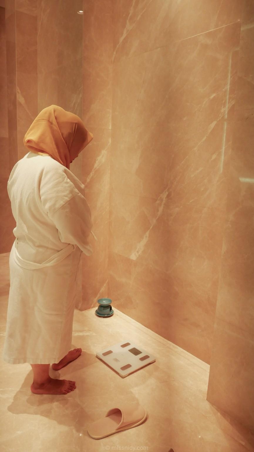 pengalaman spa di raffles spa jakarta