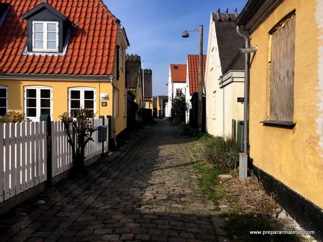 visita al pueblo de Dragor desde Copenhague