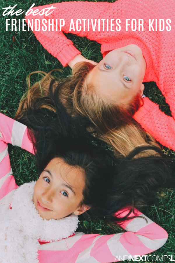 Social skills activities for kids for teaching about friendship