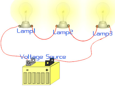 Series electric circuit