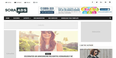 best adsense ready blogger template