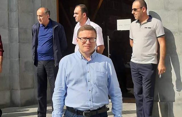 Armenia concedió asilo a opositor ruso