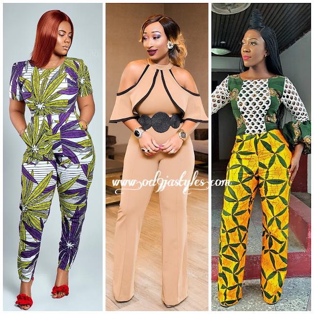 Latest Ankara Jumpsuits 2018 Ultra Stylish Ankara Styles for Ladies