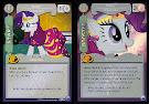 My Little Pony Rarity, Dressmaker Canterlot Nights CCG Card