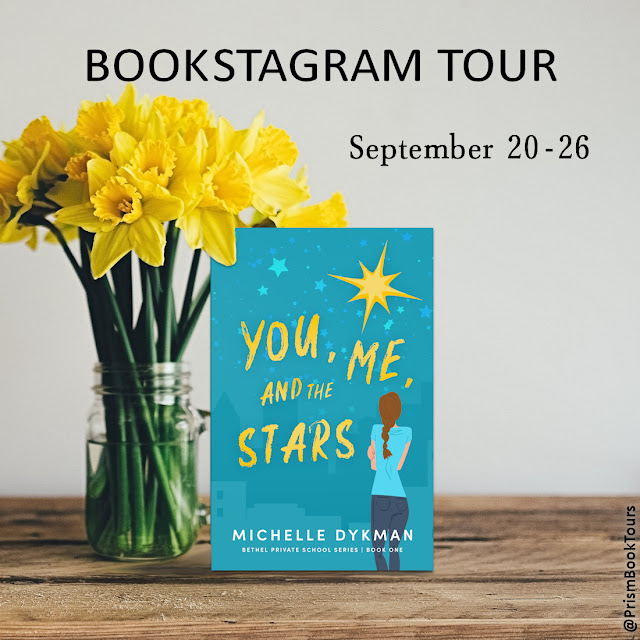 Check out the Bookstagram Tour for YOU, ME AND THE STARS by Michelle Dykman!