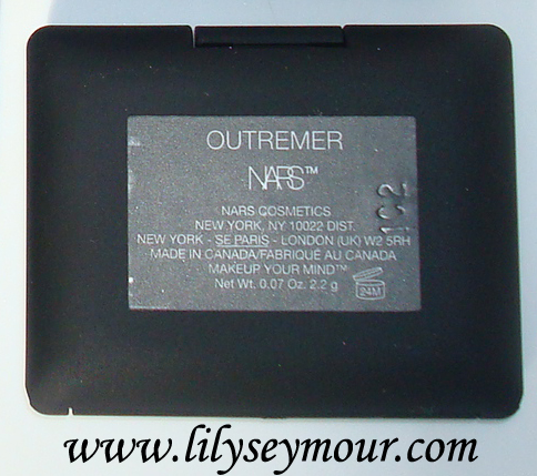 Swatches ~ Nars Outremer Eyeshadow