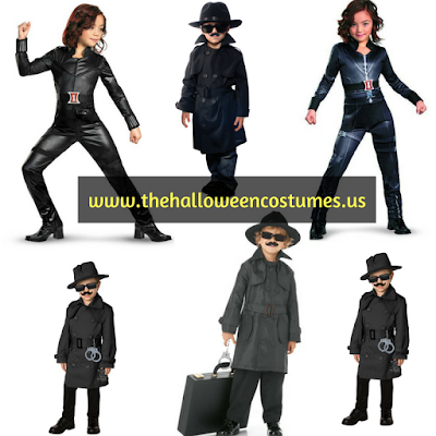 Spy Kids Halloween Costume for kids 2016