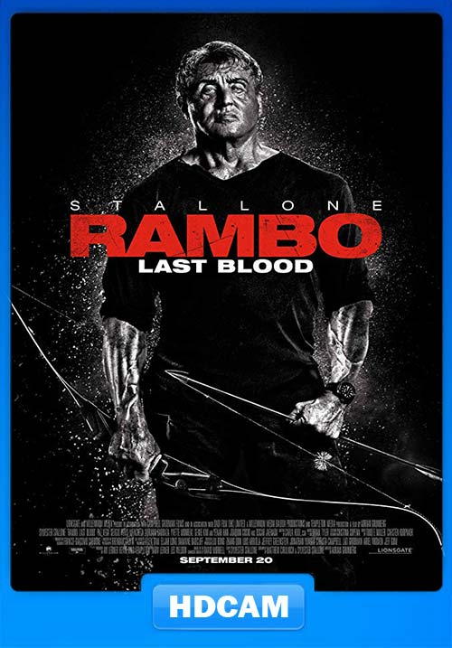 Rambo Last Blood 2019 720p HDCAMRip x264 | 480p 300MB | 100MB HEVC