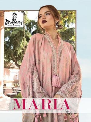 Majesty Maria b Hit vol 2 pakistani Suits wholesaler