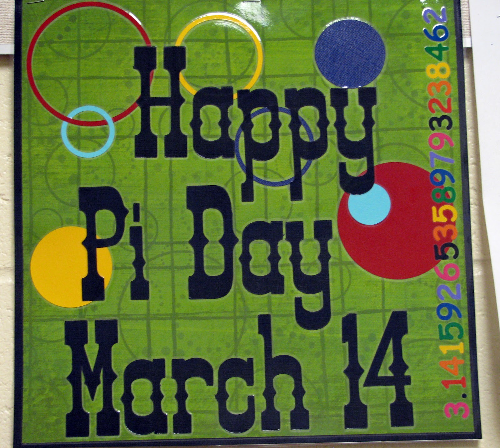 Controlling My Chaos Happy Pi Day