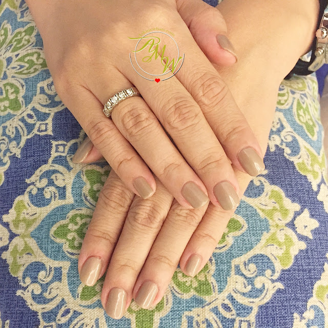 a photo of Gelish Gel Polish in Taupe Available at Nailaholics