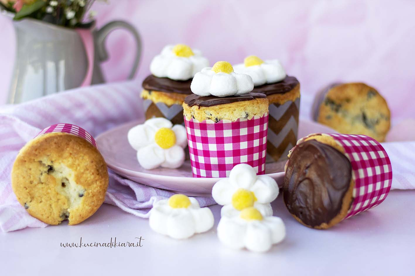 Ingredienti cupcake al cioccolato morbidissimi