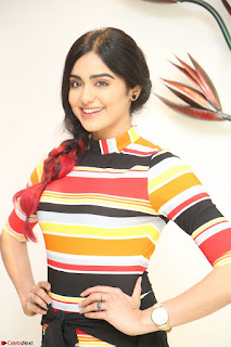 Adha Sharma in a Cute Colorful Jumpsuit Styled By Manasi Aggarwal Promoting movie Commando 2 (88).JPG