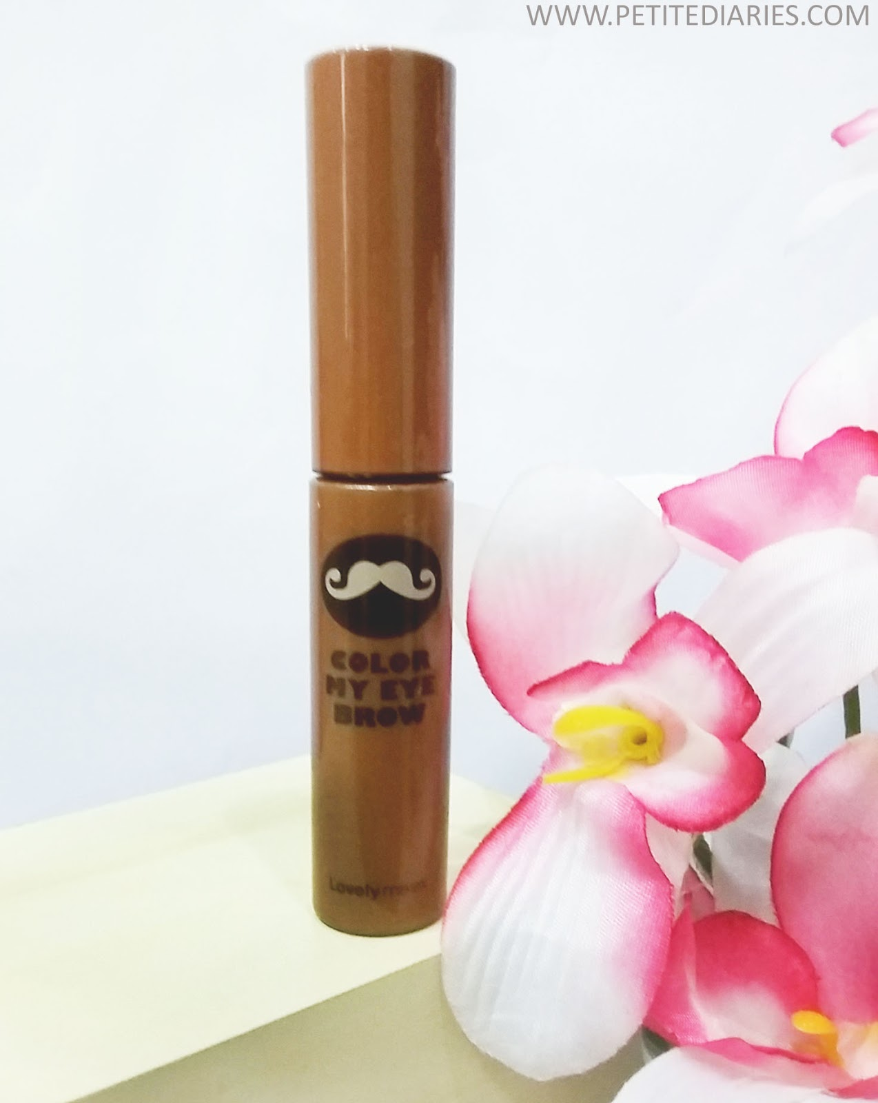 the faceshop color my brow mascara review