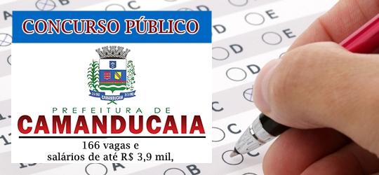 edital concurso da Prefeitura de Camanducaia 2018