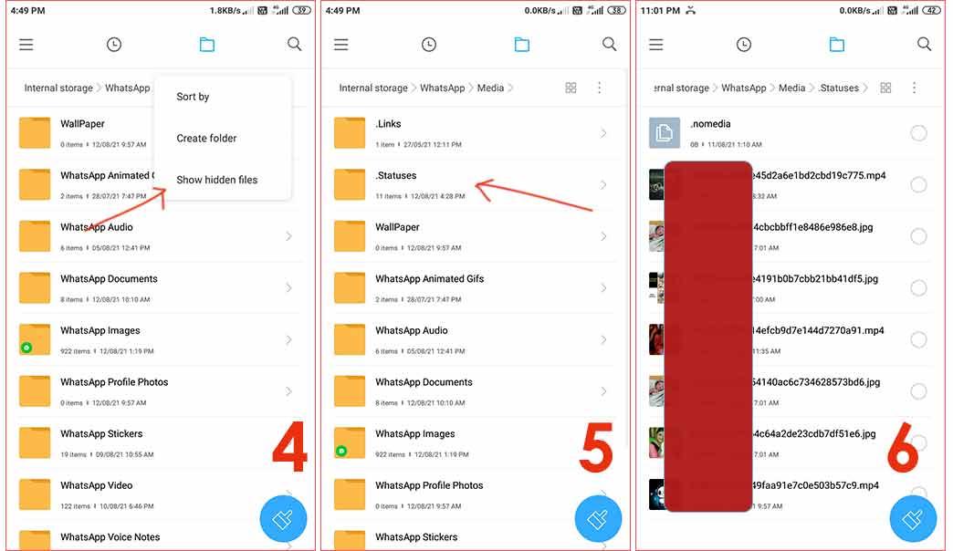व्हाट्सएप स्टेटस कैसे डाउनलोड किया जाता है