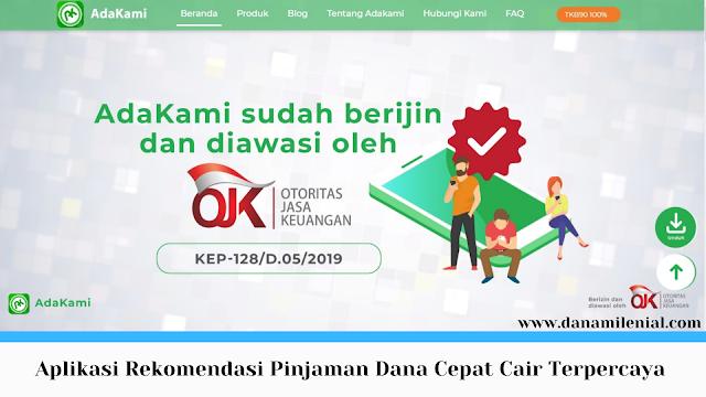 Aplikasi Rekomendasi Pinjaman Dana Cepat Cair Terpercaya