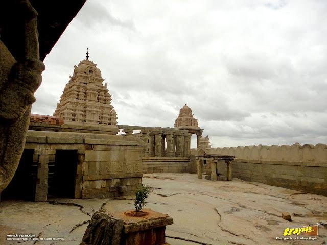Veerabhadra Swamy Temple at Lepakshi, in Andhra Pradesh, near Andhra - Karnataka border, India