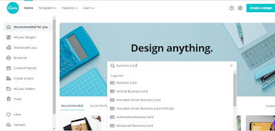 Tutorial 10 - Design Logo, Business Card and Letterheads in Canva