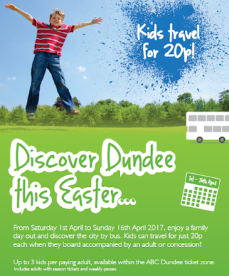 Discover Dundee this Easter with Special 20p Bus Tickets for Children