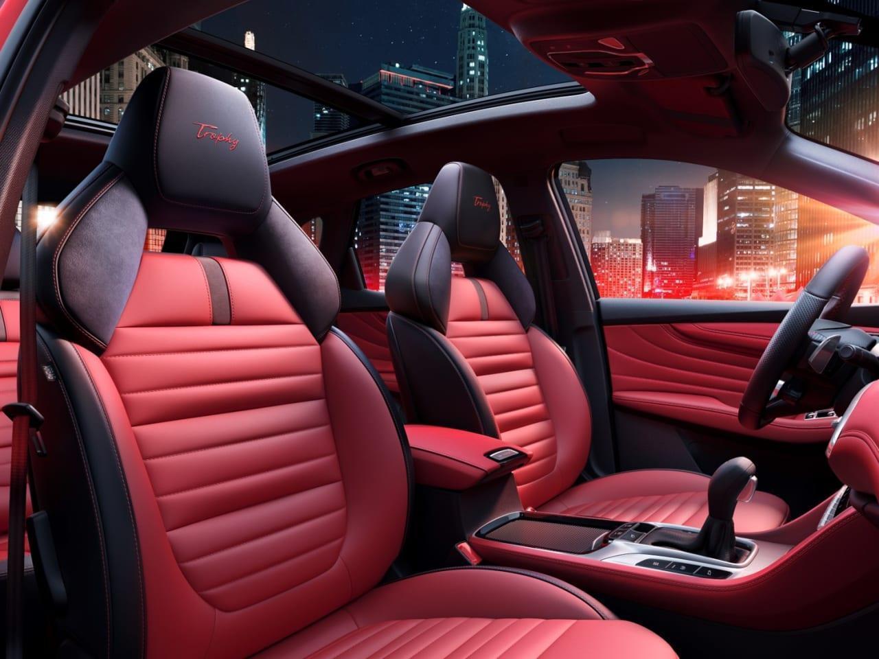 سيارة إم جي HS موديل 2021
