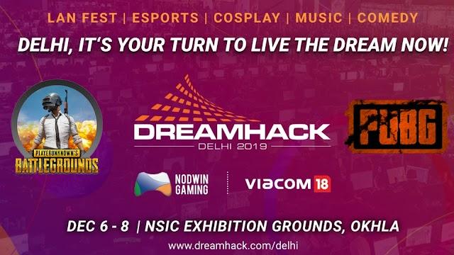 DreamHack Delhi 2019 to Host PUBG Mobile Tournaments