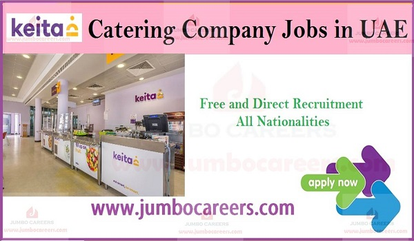 Catering company jobs in UAE, Latest catering jobs in Abu Dhabi