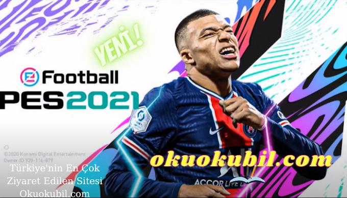 PES 2021 Patch Theme v5.1.0 Mobile UEFA Şampiyonlar League OBB 2021