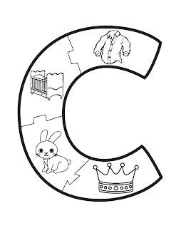 puzzle de letras para imprimir