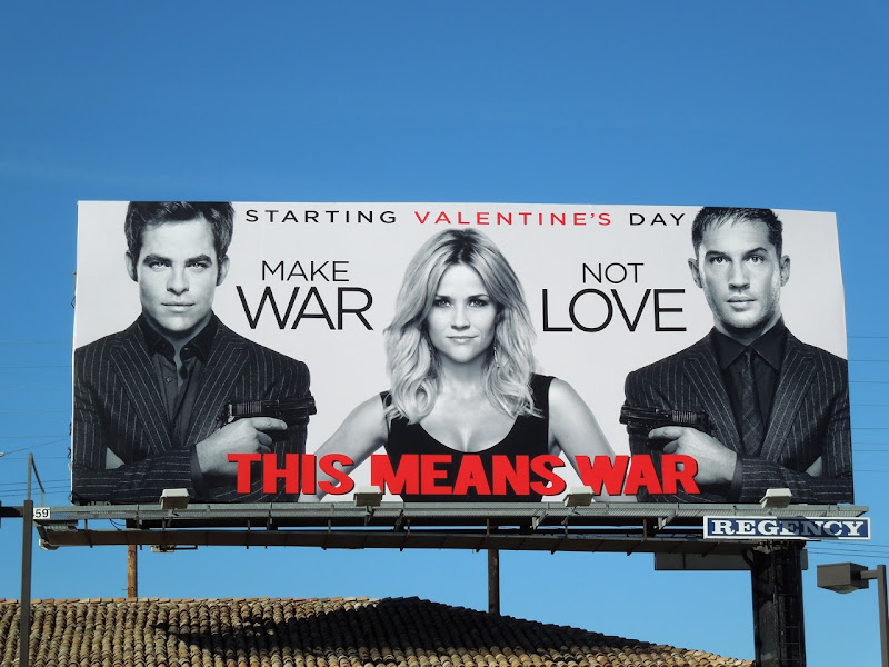 This Means War movie billboard