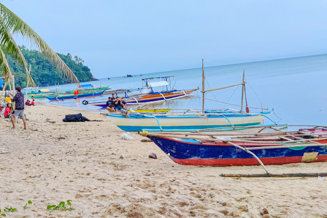 Beach area of Calilayan Cove Resort, Unisan Quezon
