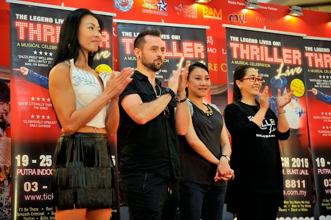 Flashmob Dance Competition sempena THRILLER LIVE IN MALAYSIA 2015