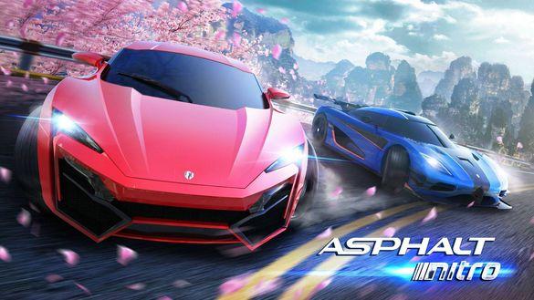 تحميل و تجربة لعبة Asphalt Nitro 2 للاندرويد من شركة Gameloft