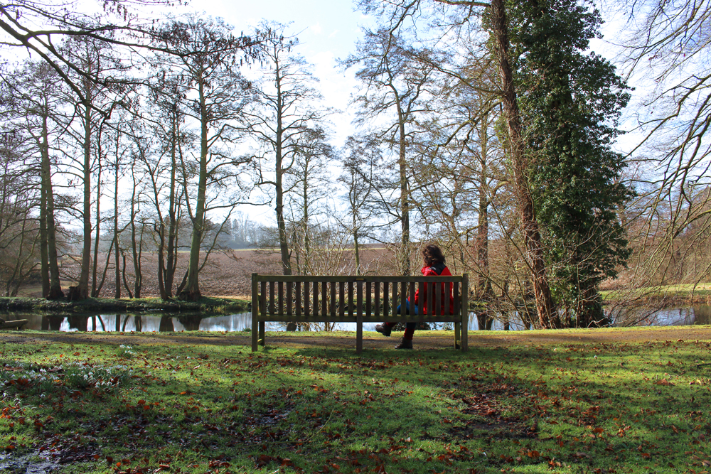 Rushton Hall gardens with Mum, Northamptonshire - UK luxury travel blog
