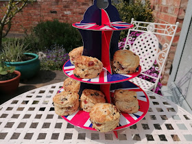 Cherry Scones VE Day