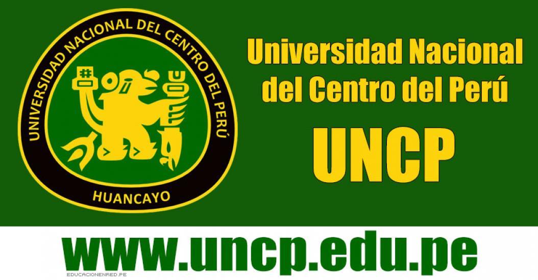 Admisión UNCP 2017-1 (Examen 19 Marzo) Inscripción Universidad Nacional del Centro del Perú - www.uncp.edu.pe