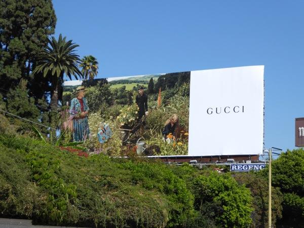 Gucci Vanessa Redgrave billboard