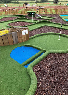 Adventure Golf course at Worldham Golf Club in Alton, Hampshire