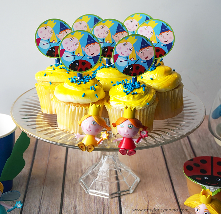 Throw a magical Ben & Holly's Little Kingdom Party with these simple tips and free printables!