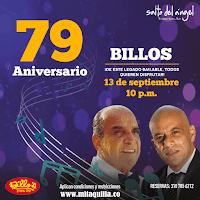 Concierto de BILLOS Aniversario 79 en Bogotá | Descubre todos los detalles a continuación…