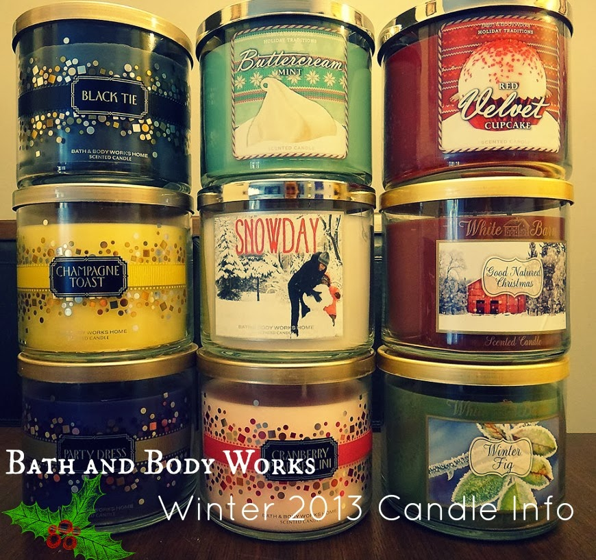 missebeauty bath and body works winter candle info 2013. Black Bedroom Furniture Sets. Home Design Ideas