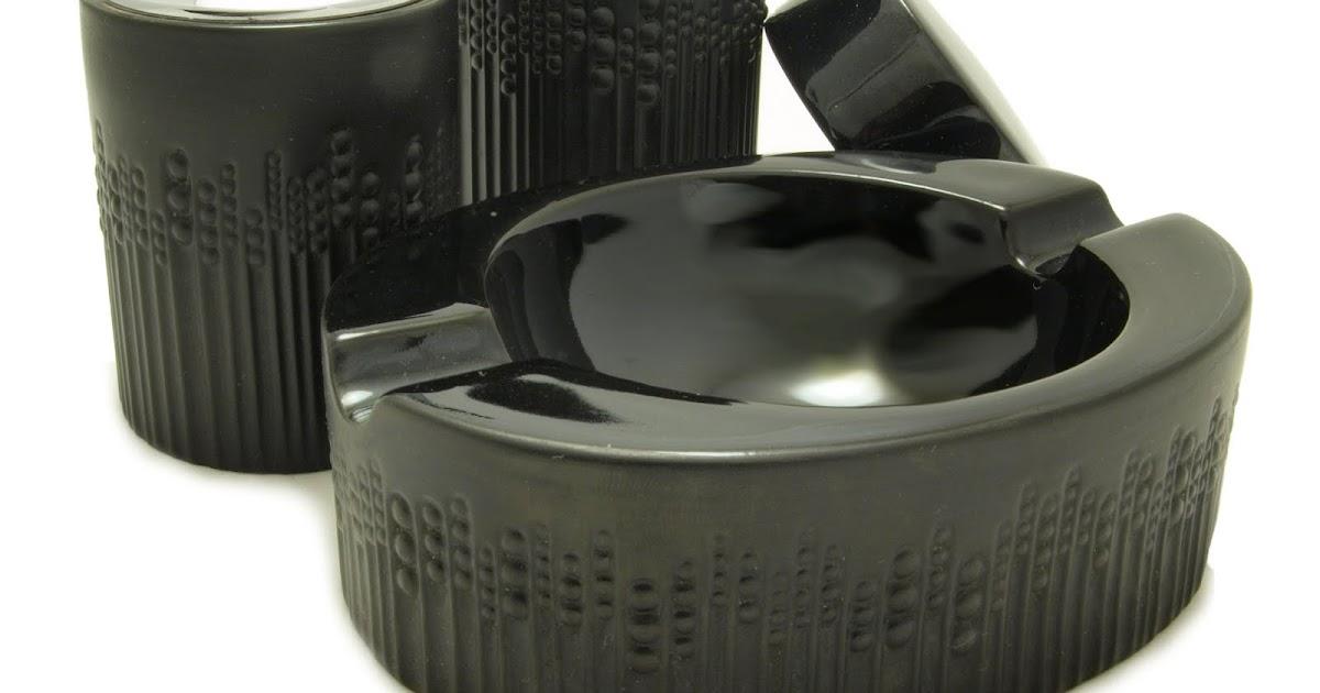 Table Lighters Collectors Guide Ronson Noir Smoking Set